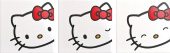 Плитка HELLO KITTY D020109 EXPRESSION RED ПАННО