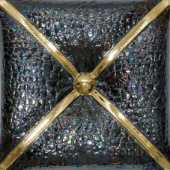 Плитка LUX CUSHION METAL NEGRO ORO ДЕКОР
